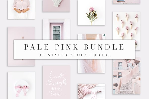 Pale Pink Bundle