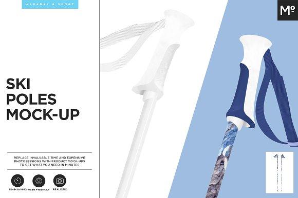 Download Ski Poles Mock-up