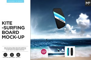 Kitesurfing Mock-up