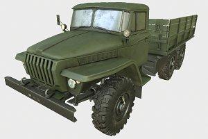 Game Ready Soviet Truck