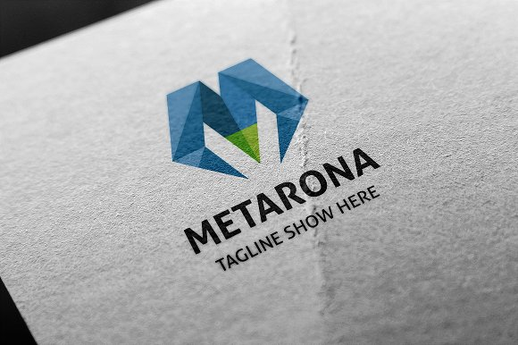Metarona (Letter M) Logo