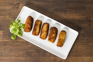 Fried croquettes