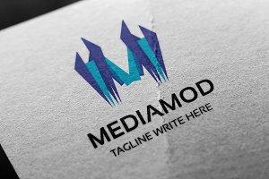Mediamod (Letter M) Logo