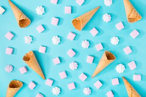 Creative composition of sweets