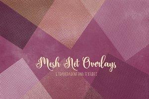Mesh - Net - Lattice PNG overlays