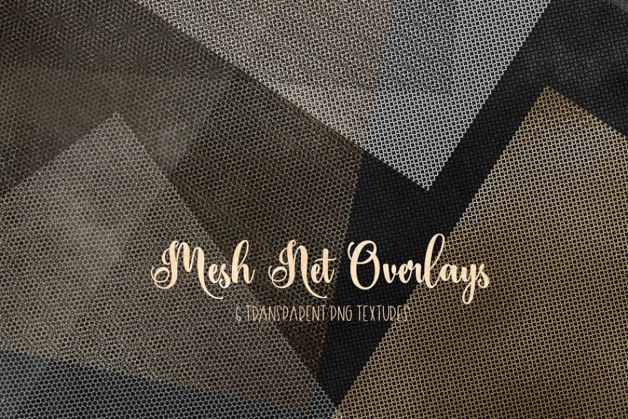 Mesh - Net - Lattice PNG overlays in Textures - product preview 1