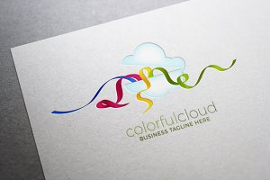 Colorful Cloud Logo