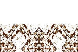 Vintage Geometric Seamless Pattern Mosaic