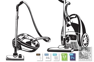 2 illustration of Vacuum cleaner