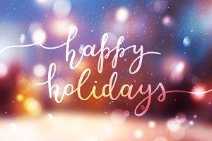 Happy Holidays. 11 variations!