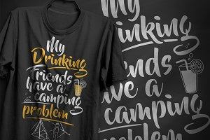Drinking problem - T-Shirt Design