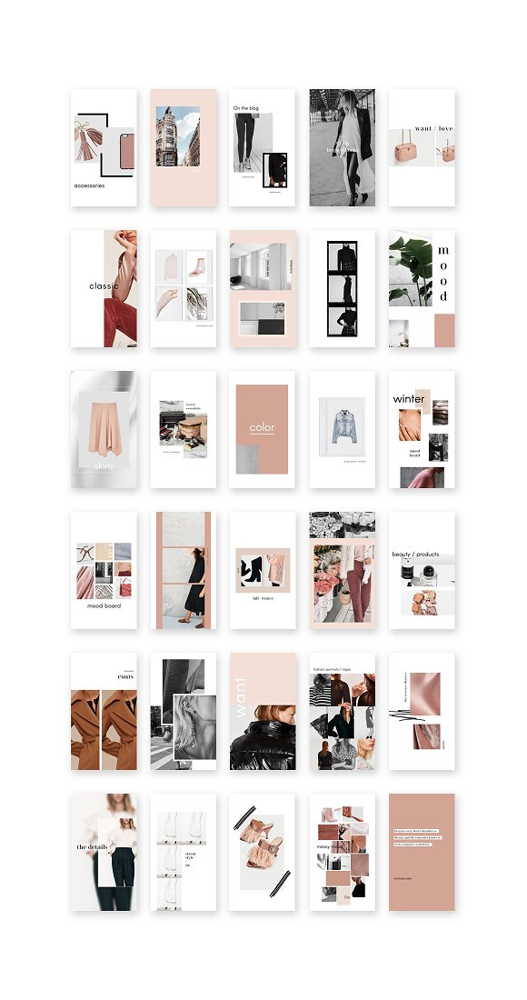 Instagram Stories Pack II in Instagram Templates - product preview 4