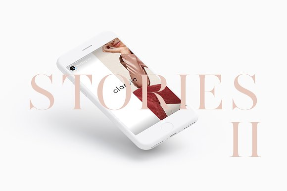 Instagram Stories Pack II in Instagram Templates