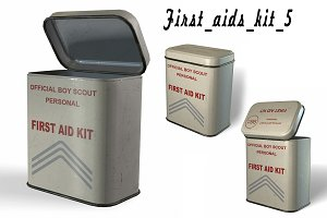 First aids kit 5