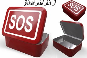 First aids kit 7