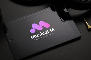 Musical M logo