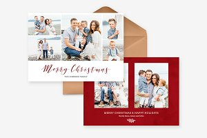 Christmas Family Card - CD069