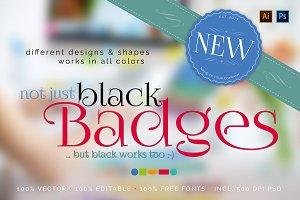 ... not just black Badges!