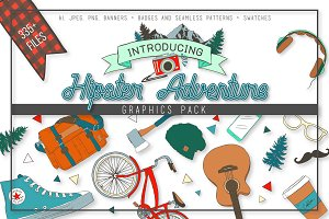 Hipster Adventure Graphics Pack