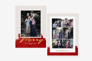 Merry Christmas Family Card - CD068