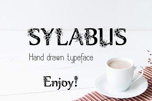 Sylabus Font