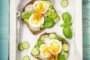 Healthy Vegetarian Sandwiches