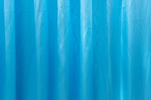 blue curtain fabric texture