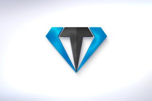 VT or T diamond logo + (16  colors)