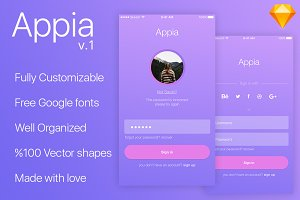 Appia Login-Registration UI