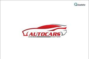Autocars Motor Logo Template
