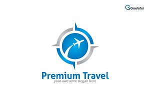 Premium Travel Logo Template