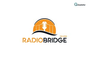 Radio Bridge Logo Template