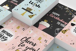 Birthday cards kit