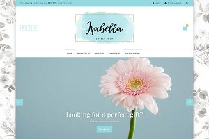 Shopify Theme for Females - Isabella