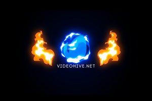 Cartoon Explosion Logo