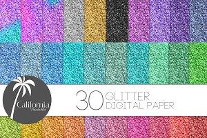 Glitter Texture Digital Paper