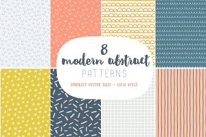 Modern abstract patterns