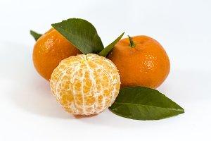 Three mandarines