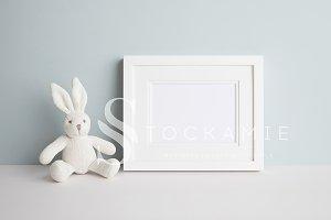 White Nursery Frame Mock Up