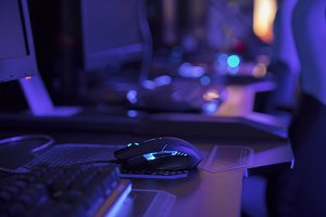 Gaming arena background
