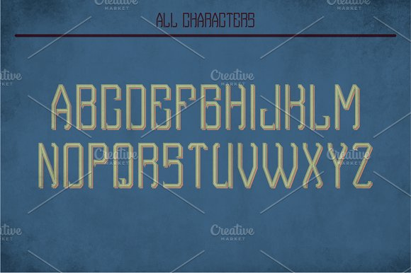 Porter Vintage Label Typeface in Display Fonts - product preview 1