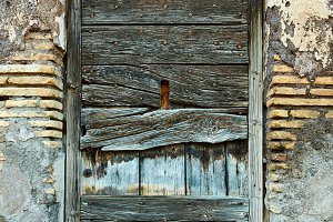 Aged door - high resolution texture and background