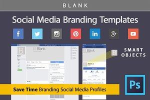 Social Media Branding Templates 2018