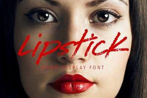 Lipstick on the Mirror Script Font