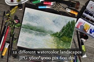 Watercolor Landscapes