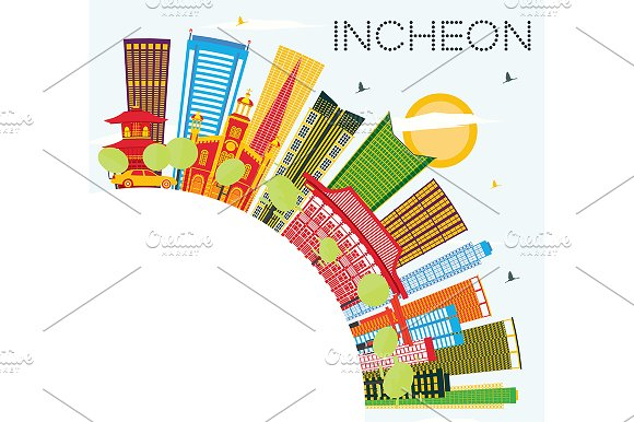 Incheon Skyline