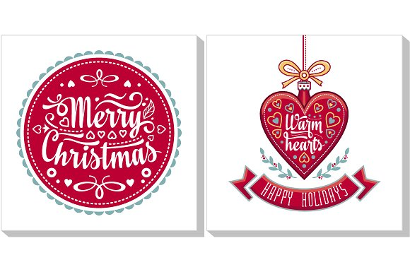 Christmas template greeting card icons creative market christmas template greeting card icons m4hsunfo