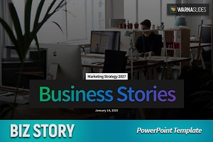 Biz Story PowerPoint Template