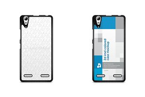 Lenovo A6010 2d IMD Colored Case