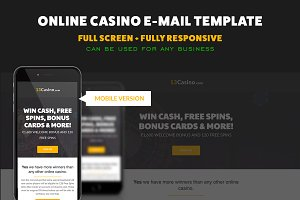 Casino Responsive Email Template